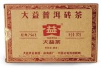 Китайский чай пуэр 7562 от компании Да И