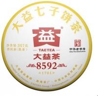 Шу пуэр 8592 эталон Юньнаньских чаев