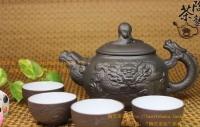 Глиняный сервиз для чая