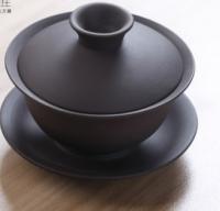 Гайвань черного цвета для китайского чая
